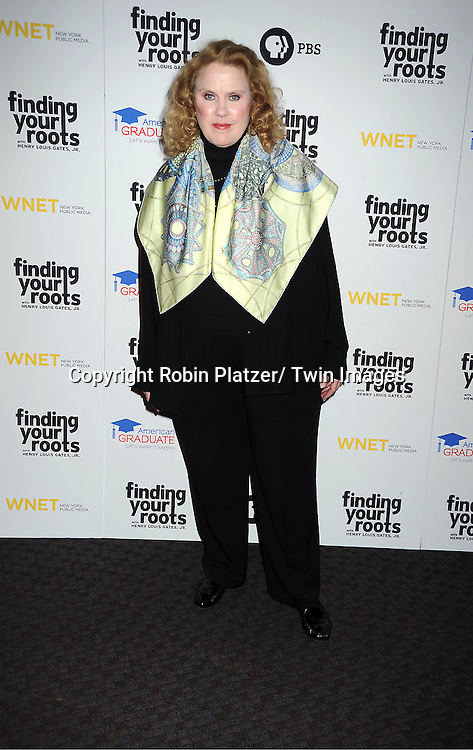 "Celia Weston attends the PBS""s Finding Your Roots with Henry Louis Gates, Jr  Premiere screening   at The Allen Room at Frederick P Rose Hall in New York City on March 19, 2012."