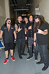 Vinnie Paul, Chad Gray, Tom Maxwell, Bob Zilla and Greg Tribbett of Hellyeah perform at the Rock Vegas Music Festival at Mandalay Bay in Las Vegas, Nevada.