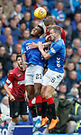 12.08.18 Rangers v St Mirren: Cammy Smith with Lassana Coulibaly and Andy Halliday