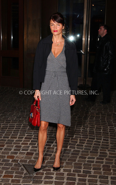 "WWW.ACEPIXS.COM . . . . . ....November 8 2007, New York City....Helena Christensen arriving at the ""Margot at the Wedding"" Screening hosted by the Cinema Society at the Tribeca Grand Screening Room....Please byline: KRISTIN CALLAHAN - ACEPIXS.COM.. . . . . . ..Ace Pictures, Inc:  ..(646) 769 0430..e-mail: info@acepixs.com..web: http://www.acepixs.com"