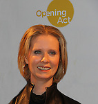 Opening Act proudly presents a play reading to benefit theater in NYC schools as Cynthia Nixon as she stars in the quirky comedy Hate Mail on December 6, 2010 at New World Stages, New York City, New York. (Photo by Sue Cofllin/Max Photos)