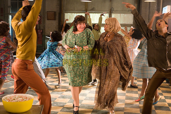 JOHN TRAVOLTA & QUEEN LATIFAH.in Hairspray  .**Editorial Use Only**.CAP/AWFF.Supplied by Capital Pictures