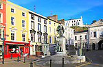 Lusitania memorial, Casement Square, Cobh, County Cork, Ireland, Irish Republic