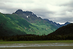 AK: Lake Clark National Park, Alaska, scenic view  .Photo Copyright: Lee Foster, lee@fostertravel.com, www.fostertravel.com, (510) 549-2202.Image: akbear210