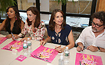 Ashley Park, Erika Henningsen, Tina Fey and Jeff Richmond attend the 'Mean Girls' Original Broadway Cast Linyl Release at the Herald Square Urban Outfitters' on August 28, 2018 in New York City.