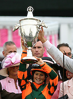 May 4, 2012. Rosie Napravnik wins the Kentucky Oaks at Churchill Downs in Louisville, KY