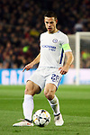 UEFA Champions League 2017/2018.<br /> Round of 16 2nd leg.<br /> FC Barcelona vs Chelsea FC: 3-0.<br /> Cesar Azpilicueta.