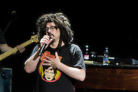 Adam Duritz of the Counting Crows performs with the Band during Luglio Suona Bene festival at Auditorium Parco della Musica,  Rome, Italy on 4 July 2015. Photo by Valeria  Magri.