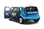 Car images of2015 KIA Soul EV Base 5 Door Wagon Doors