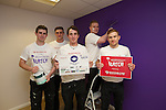 Redrow Homes.LATCH renovation.Childrens Hospital Wales.L-R: Tom Pearson, Greg Allsop, Conor Roberts, Mathew Tudor-Owen & Chris Glover..17.04.13..©Steve Pope