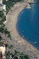 Hawaii, Oahu, Waikiki Beach.