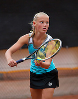 07-08-13, Netherlands, Rotterdam,  TV Victoria, Tennis, NJK 2013, National Junior Tennis Championships 2013, Suzan Lamens<br /> <br /> <br /> Photo: Henk Koster