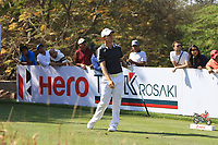 Emiliano Grillo (ARG) in action on the 11th during Round 3 of the Hero Indian Open at the DLF Golf and Country Club on Saturday 10th March 2018.<br /> Picture:  Thos Caffrey / www.golffile.ie<br /> <br /> All photo usage must carry mandatory copyright credit (&copy; Golffile | Thos Caffrey)