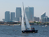 Sailing Boat in London Docklands
