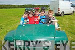 Joseph Harnett, Joshua Martin, Danny Harnett, Ross Harnett and  Scott Harnett at Abbeyfeale races on Sunday.