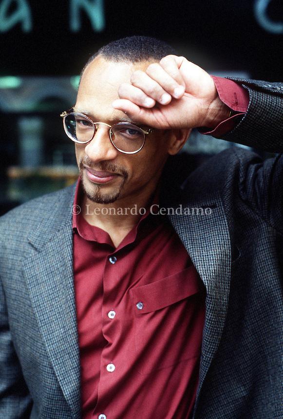 2000: FRED D\'AGUIAR, WRITER © Leonardo Cendamo