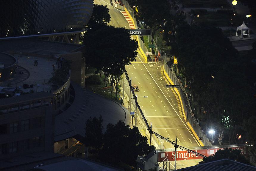 .Sebastian Vettel (GER), Red Bull Racing ..2012 FIA Formula One World Championship - Singtel Formula One Grand Prix, Marina Bay Street Circuit, Singapore, Singapore, Friday 21st September 2012...