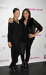 Kim Ito and Jamine at Color of Beauty Awards hosted by VH1's Gossip Table's Delaina Dixon and Maureen Tokeson-Martin on February 28, 2015 with red carpet, awards and cocktail reception at Ana Tzarev Gallery, New York City, New York.  (Photo by Sue Coflin/Max Photos)