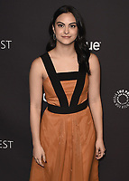 "HOLLYWOOD, CA - MARCH 25:  Camila Mendes at PaleyFest 2018 - ""Riverdale"" at the Dolby Theatre on March 25, 2018 in Hollywood, California. (Photo by Scott KirklandPictureGroup)"