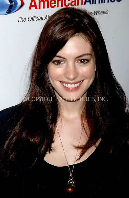 WWW.ACEPIXS.COM . . . . . ....November 17, 2006, New York City. ....Anne Hathaway attends the Citymeals-On-Wheels 20th Annual Power Lunch for Women. ....Please byline: KRISTIN CALLAHAN - ACEPIXS.COM.. . . . . . ..Ace Pictures, Inc:  ..(212) 243-8787 or (646) 769 0430..e-mail: info@acepixs.com..web: http://www.acepixs.com