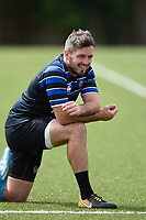Darren Allinson of Bath Rugby looks on. Bath Rugby pre-season training on August 8, 2018 at Farleigh House in Bath, England. Photo by: Patrick Khachfe / Onside Images