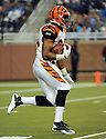 JOHN GRIFFIN, of the Cincinnati Bengals in action during the Bengals game against the Detroit Lion on August 12, 2011 at Ford Field in Detroit, Michigan. The Lions beat the Bengals 34-3.