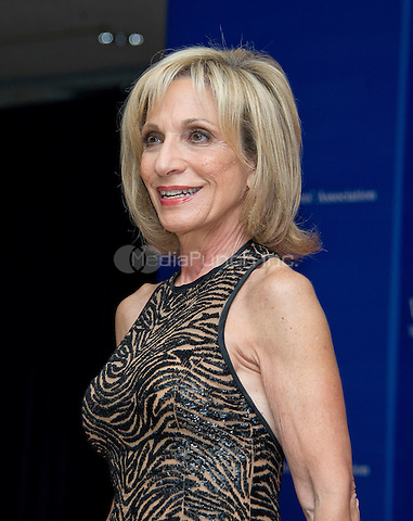 Andrea Mitchell  arrives for the 2016 White House Correspondents Association Annual Dinner at the Washington Hilton Hotel on Saturday, April 30, 2016.<br /> Credit: Ron Sachs / CNP<br /> (RESTRICTION: NO New York or New Jersey Newspapers or newspapers within a 75 mile radius of New York City)/MediaPunch