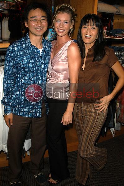 Getty Watanabe, Rachel McKenna and Suzanne Wong