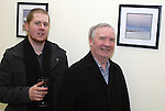 Derek McCluskey and Vincent Doyle at the Launch of Eric O'Neill's exhibition...Photo NEWSFILE/Jenny Matthews.(Photo credit should read Jenny Matthews/NEWSFILE)....This Picture has been sent you under the condtions enclosed by:.Newsfile Ltd..The Studio,.Millmount Abbey,.Drogheda,.Co Meath..Ireland..Tel: +353(0)41-9871240.Fax: +353(0)41-9871260.GSM: +353(0)86-2500958.email: pictures@newsfile.ie.www.newsfile.ie.FTP: 193.120.102.198.