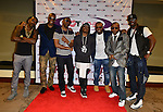 CORAL GABLES, FL - OCTOBER 17: Dru Hill and 112 backstage during Hot 105's 30th Anniversary R&B Groove at Bank United Center on Saturday October 17, 2015 in Miami, Florida.  ( Photo by Johnny Louis / jlnphotography.com )