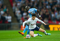 Tottenham's Heung-Min Son  during the EPL - Premier League match between Tottenham Hotspur and Newcastle United at Wembley Stadium, London, England on 9 May 2018. Photo by Andrew Aleksiejczuk / PRiME Media Images.
