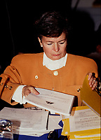 Montreal (Qc) CANADA - file photo circa 1990, Jeanne Blackburn