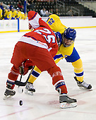 Radim Herman (Czech Republic - 25), Oscar Lindberg (Sweden - 28) - Sweden defeated the Czech Republic 4-2 at the Urban Plains Center in Fargo, North Dakota, on Saturday, April 18, 2009, in their final match of the 2009 World Under 18 Championship.