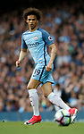Leroy Sane of Manchester City in action during the English Premier League match at the Etihad Stadium, Manchester. Picture date: May 16th 2017. Pic credit should read: Simon Bellis/Sportimage