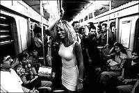 in metrò.