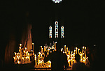 Lighting Candles At The Basilica of the Sacré CÅur, Montmartre, Paris