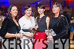 Catherine Duke, Deirdre O'Sullivan, Therese Breen and Mary Keating (Killarney), pictured at Christmas in Killarney Fashion Show held in the Aghadoe Heights Hotel, Killarney on Thursday last.