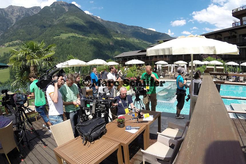 Teams bereiten sich am Platz von Kevin Grosskreutz auf den Media Day im Andreus Golf-Hotel vor - Media Day der Deutschen Nationalmannschaft zur WM-Vorbereitung in St. Martin