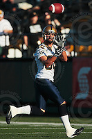 Aug 3, 2007; Hamilton, ON, CAN; Winnipeg Blue Bombers play the Hamilton Tiger-Cats at Ivor Wynne Stadium. The Tiger-Cats defeated the Blue Bombers 43-22. Mandatory Credit: Ron Scheffler. Pictured here is Winnipeg Blue Bombers wide receiver (88) Jamie Stoddard.