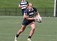 Penn State women's rugby Rachel Ehrecke against Washington DC Furies women's rugby on April 22, 2017.  Penn State won 60-10. Photo/©2017 Craig Houtz