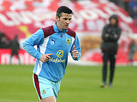 Burnley's Joey Barton during the pre-match warm-up <br /> <br /> Photographer Rich Linley/CameraSport<br /> <br /> The Premier League - Liverpool v Burnley - Sunday 12 March 2017 - Anfield - Liverpool<br /> <br /> World Copyright &copy; 2017 CameraSport. All rights reserved. 43 Linden Ave. Countesthorpe. Leicester. England. LE8 5PG - Tel: +44 (0) 116 277 4147 - admin@camerasport.com - www.camerasport.com