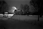 Snow storm, Hills, Iowa, 2004