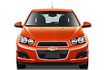 Straight front view of a 2012 Chevrolet Sonic LT 5 Door