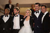 Christopher Laesso, Dominic West, Ruben Ostung, Claes Bang, Elisabeth Moss at the The Square premiere for at the 70th Festival de Cannes.<br /> May 20, 2017  Cannes, France<br /> Picture: Kristina Afanasyeva / Featureflash
