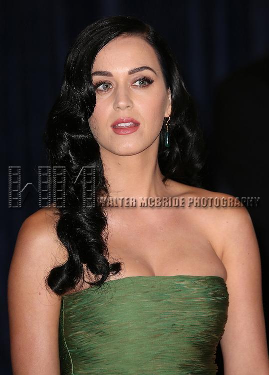 Katy Perry  attending the  2013 White House Correspondents' Association Dinner at the Washington Hilton Hotel in Washington, DC on 4/27/2013