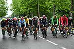 The start of Stage 6 of the Criterium du Dauphine 2019, running 229km from Saint-Vulbas - Plaine de l'Ain to Saint-Michel-de-Maurienne, France. 14th June 2019.<br /> Picture: ASO/Alex Broadway | Cyclefile<br /> All photos usage must carry mandatory copyright credit (© Cyclefile | ASO/Alex Broadway)