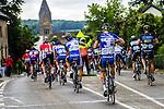 Dangerous road furniture is an everyday occurance in Dutch cycling races, Stage 3 Buchten - Buchten, Ster ZLM Toer, Buchten, The Netherlands, 20th June 2014, Photo by Thomas van Bracht / Peloton Photos