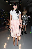 Daisy Lowe<br /> at the Ashley Williams AW17 show as part of London Fashion Week AW17 at 180 Strand, London.<br /> <br /> <br /> &copy;Ash Knotek  D3230  17/02/2017