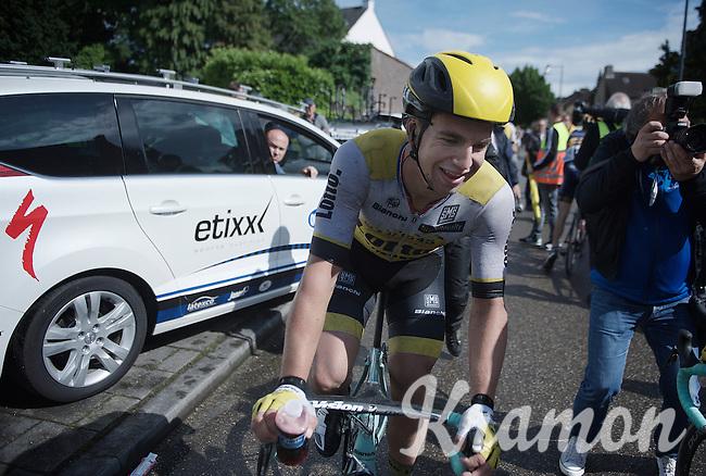 stage winner Dylan Groenewegen (NLD/LottoNL-Jumbo) after finishing<br /> <br /> stage 3: Buchten - Buchten (NLD/210km)<br /> 30th Ster ZLM Toer 2016
