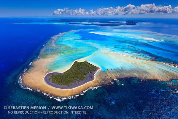 Ile Ami, dernier îlot au Sud de l'Ile des Pins, Nouvelle-Calédonie